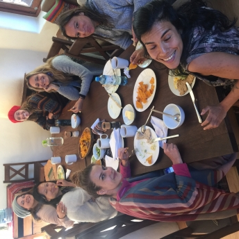 Group Meal Peru 2017